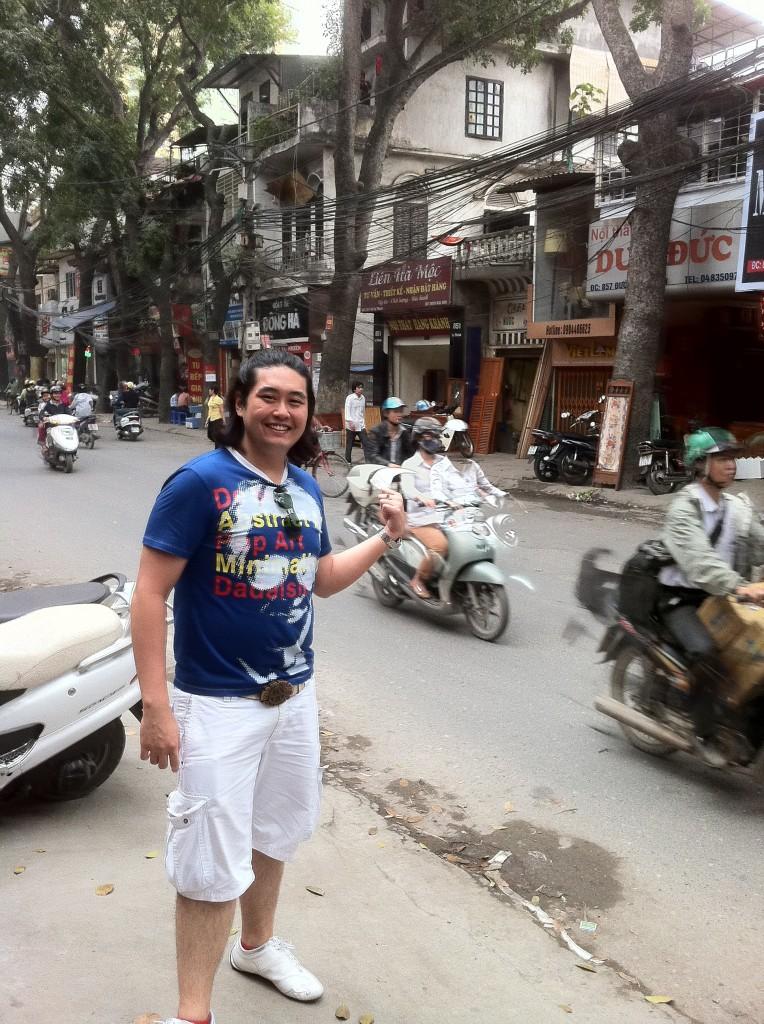 Edmund Toh In Hanoi, Vietnam