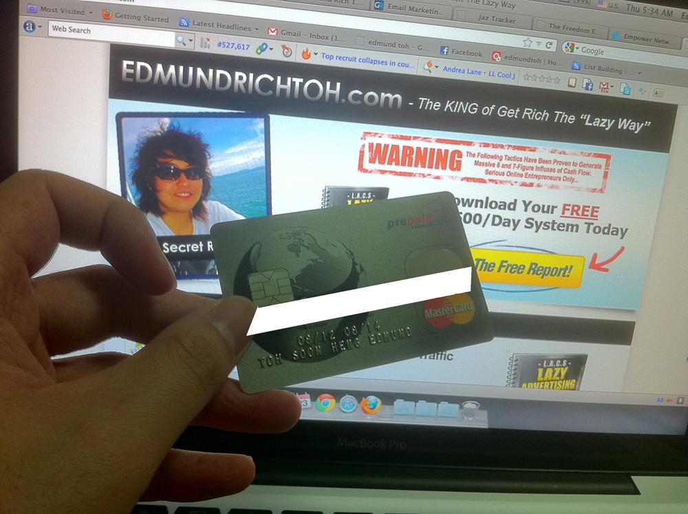Empower Network Master Debit Card