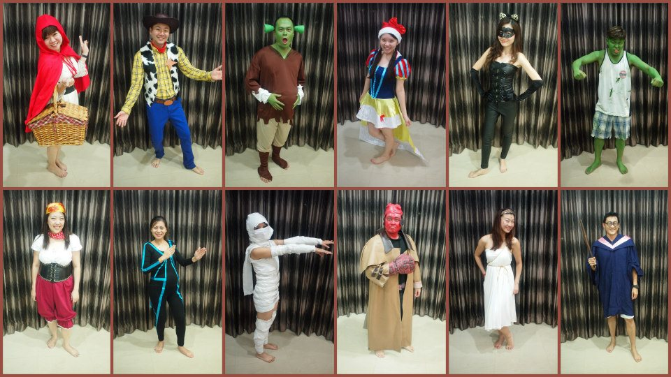 Movie Characters for Christmas 2012