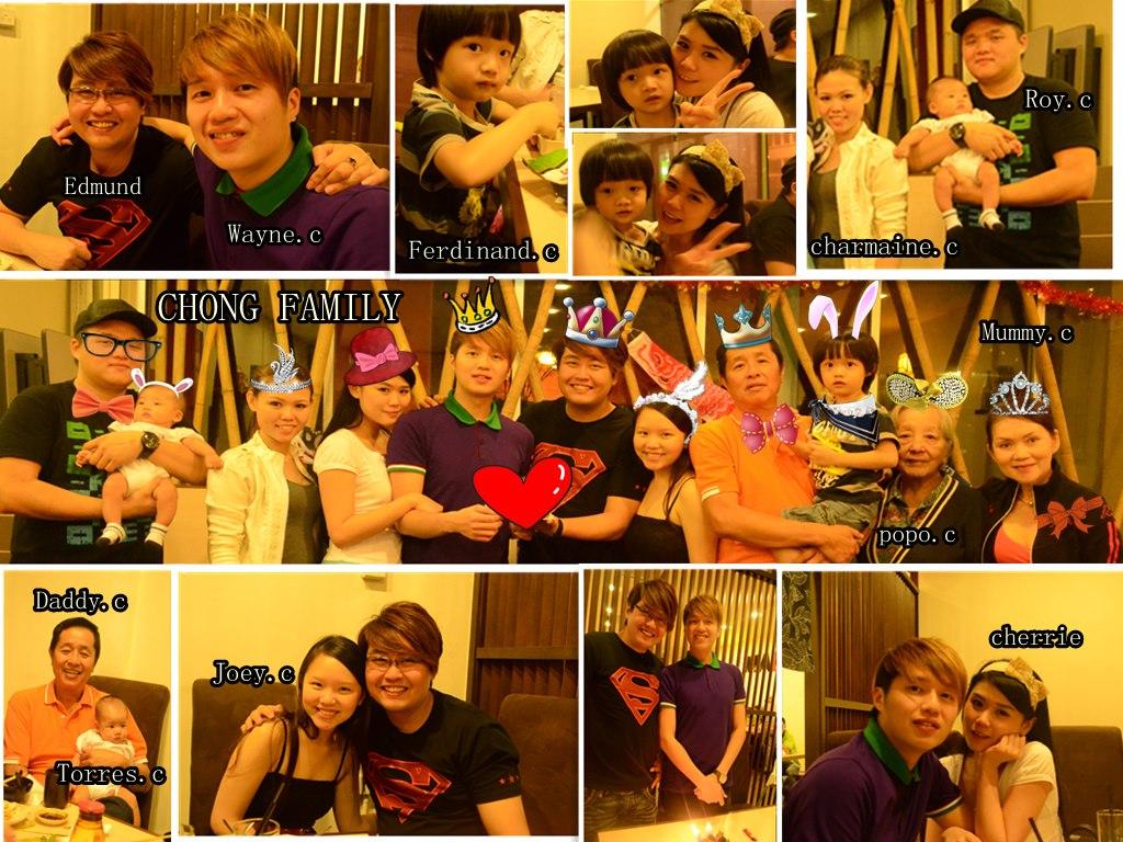 Edmund Toh Birthday Celebration With Family 2013