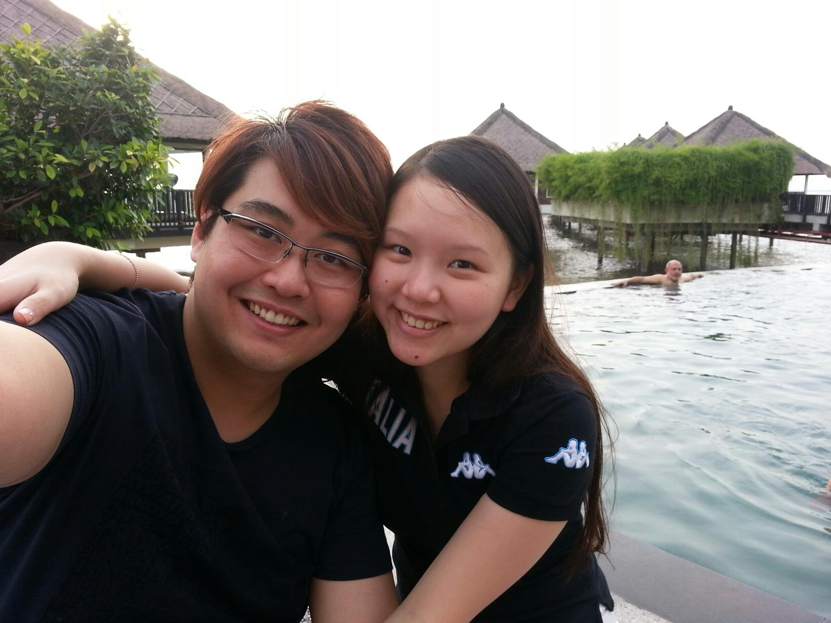 Edmund Toh & JoeyChong at Golden Palm Tree Sea Villas And Spa