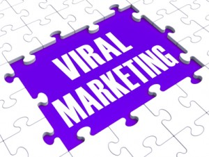 Viral Marketing Showing Advertising Strategies And Social Media Advertisement
