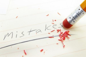 mistake fix