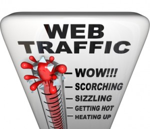 Web Traffic Thermometer - Popularity Increasing