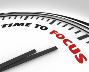 Time to Focus - Clock of Concentration