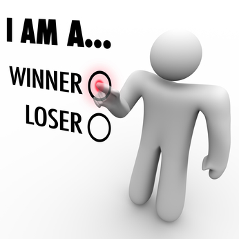 I Am a Winner vs. Loser - Choose Your Future Believe in Yourself