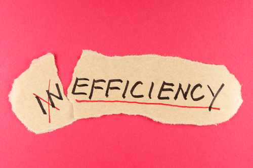 Inefficiency to efficiency