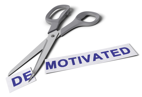 Demotivated vs Motivated Concept